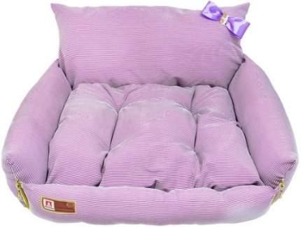 Лежанка для кошек и собак ЗООГУРМАН 45x40x40см розовый