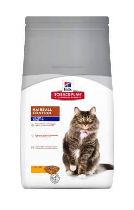 Сухой корм для кошек Hill's Science Plan Hairball Control Adult 7+, курица, индейка, 1,5кг