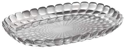Сервировочный поднос Guzzini Tiffany L Серый