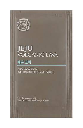 Патчи для очищения кожи THE FACE SHOP Jeju Volcanic Lava Aloe Nose Strip 7 шт