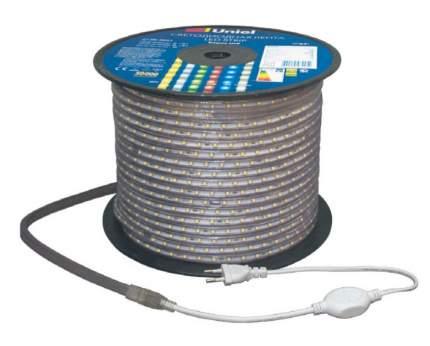 Светодиодная лента Uniel 50M белый 400W ULS-2835-60LED/m-10mm-IP67-220V-8W/m-50M-W