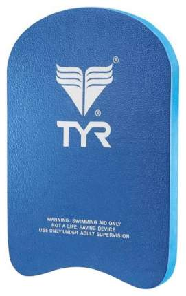 Доска для плавания TYR Junior Classic Kickboard LJKB голубая/синяя