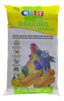 Лакомства для птиц Cliffi яичный бисквит с тропическими фруктами, 35г