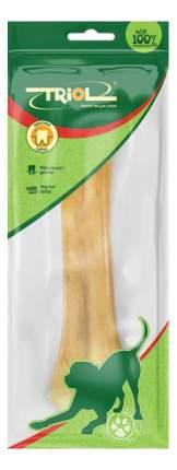 Лакомство для собак Triol, кость из сыромятной кожи, 20см, 150-160г