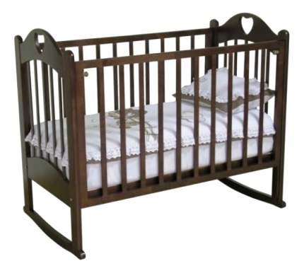 Кровать Красная звезда С-635 ЗН Любаша шоколад