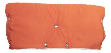 Муфта для рук мамы на детскую коляску Чудо-Чадо На кнопках Оранжевый