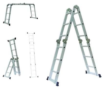 Лестница-трансформер Алюмет 4 секции по 3 ступени, 0