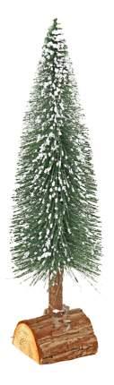 Ель искусственная Вельт декоративная с инеем 35 см