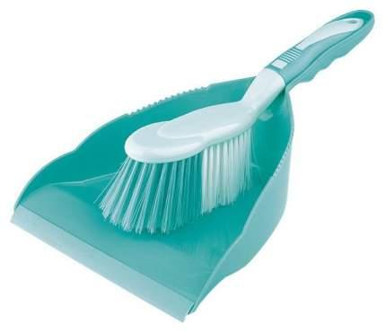 Набор: совок и щетка-сметка Elfe Для уборки помещений ударопрочный Бирюзовый