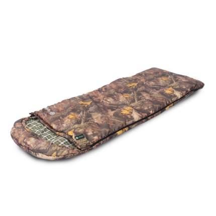 Спальный мешок Prival Привал коричневый, левый