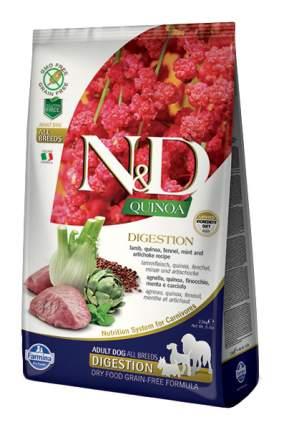 Сухой корм для собак Farmina N&D Quinoa Digestion, ягненок и киноа, 2,5кг