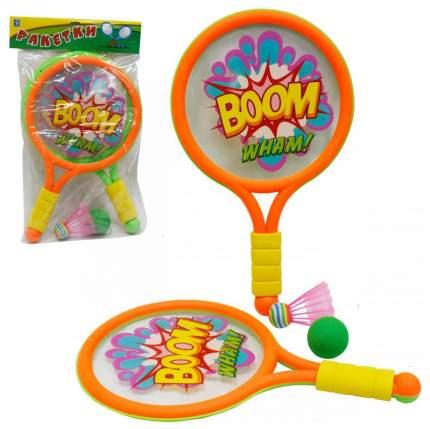 Игровой набор с ракетками 1 TOY Boom Wham т59929
