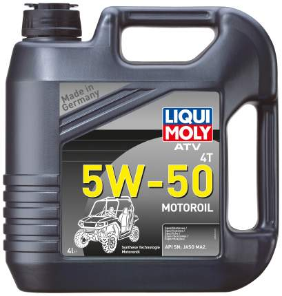 Моторное масло Liqui moly ATV 4T 5w-50 4л