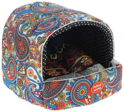 Домик для собак РОДНЫЕ МЕСТА Звезда востока купол разноцветный