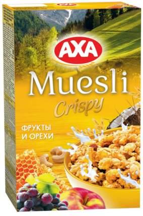 Мюсли сrispy AXA фрукты и орехи 250 г