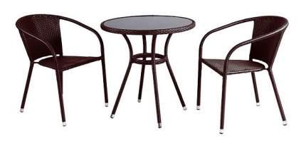 Комплект мебели Afina Garden T282ANS/Y137C-W53 Brown (2+1)