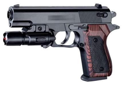 Пневматический пистолет с лазерным прицелом и пульками Shantou Gepai 1B00123