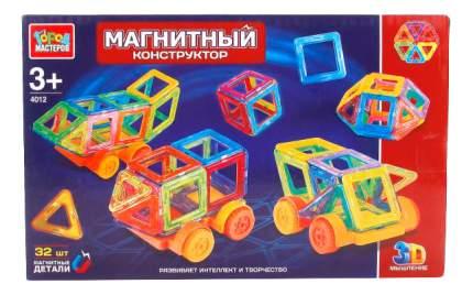 Магнитный 3D-Конструктор 32 дет. Город Мастеров Xb-4012-R