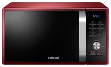 Микроволновая печь с грилем Samsung MG23F301TQR/BW red/black