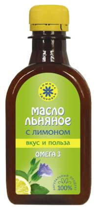 Масло льняное Компас Здоровья с лимоном 200 мл
