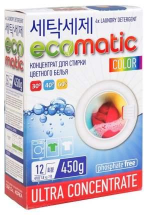 Порошок для стирки Ecomatic для цветного белья 450 г
