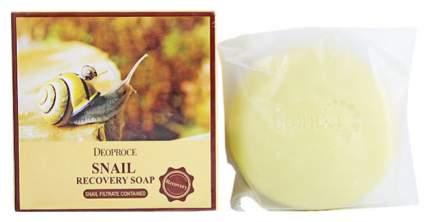 Косметическое мыло Deoproce Snail Recovery Soap 100 г
