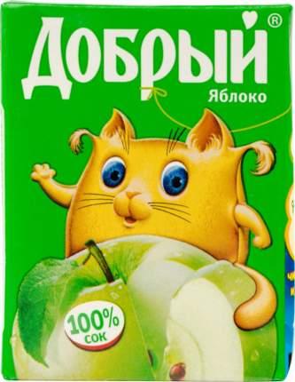 Сок яблоко Добрый осветленный 0.2 л