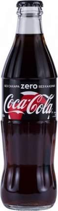 Напиток сильногазированный Coca-Cola zero стекло 0.33 л