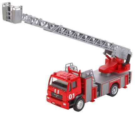 Машина спецслужбы Технопарк Пожарная машина 1:64 на блистере