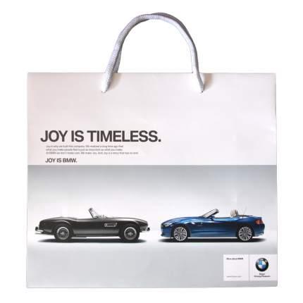 Бумажный подарочный пакет BMW Paper Bag With Handle, артикул 81850431518