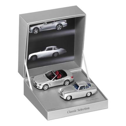 Набор из двух исторических моделей Mercedes-Benz 300 SL, W194/SL‑Class, 1:43, B66041015