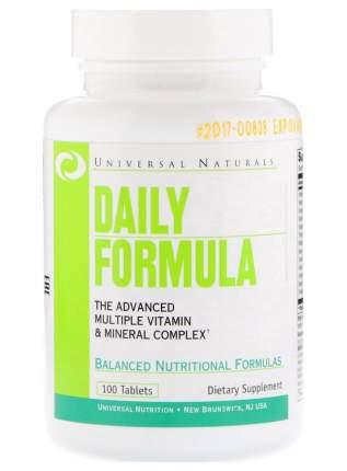 Витаминно-минеральный комплекс Universal Nutrition Daily Formula 100 табл.