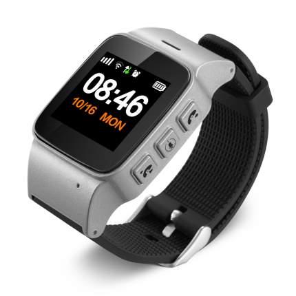 Детские смарт-часы Smart Baby Watch D99+ Silver/Black