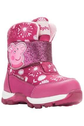 Сапоги детские Peppa Pig, цв.розовый, р-р 23