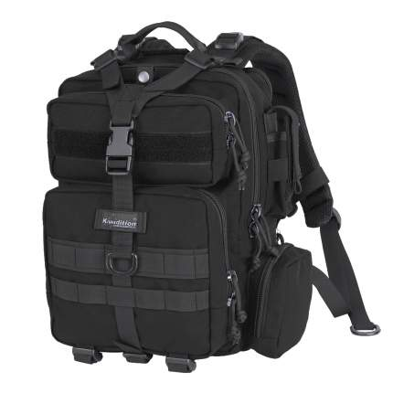 Тактический рюкзак Kiwidition Tonga ll 14 л черный