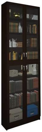 Шкаф книжный MFMaster Милан-36 MAS_MST-BDM-36-R-16-VE 80х30х240, венге