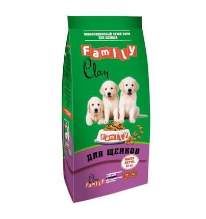 Сухой корм для щенков Clan Family, все породы, курица, 10кг