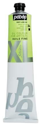Масляная краска Pebeo XL зеленый светлый 200034 200 мл
