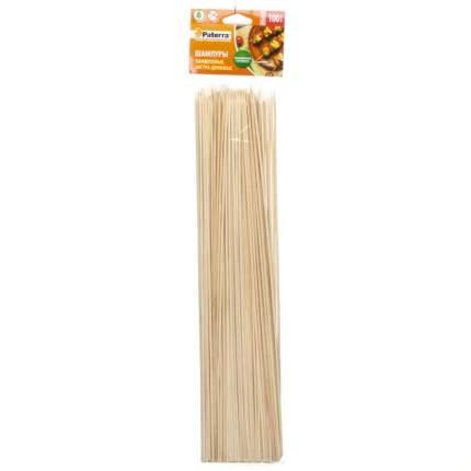 Шампур Paterra 401-496 бамбук 100 шт. d=3 мм х 400 мм