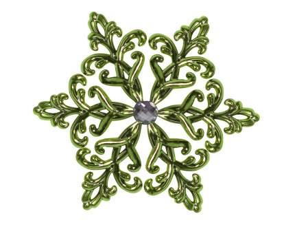 Елочная игрушка Морозко 12 см 1 шт CVG000-зеленый