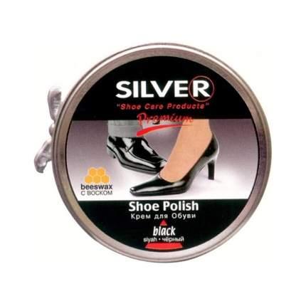 Крем для обуви Silver Premium Классик черный 50 мл