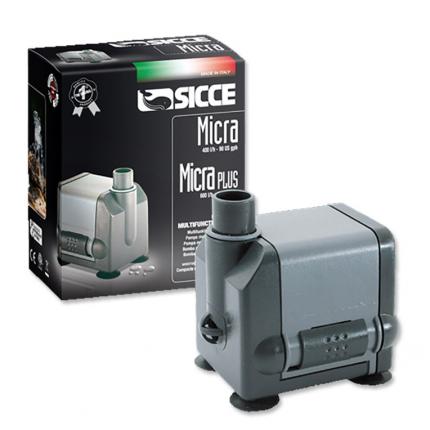 Помпа для аквариума подъемная SICCE Micra Plus, погружная, 600 л/ч, 6,5 Вт