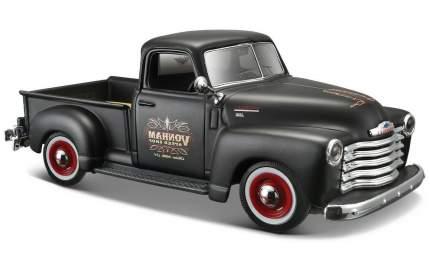 Машина Maisto 1950 Chevrolet 3100 Pickup 1:24, черная