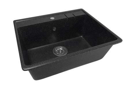 Мойка для кухни мраморная MIXLINE ML-GM15 черная