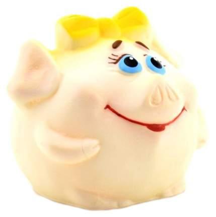 """Резиновая игрушка """"Свинка-мяч"""", 8 см ЗАО ПКФ """"Игрушки"""""""