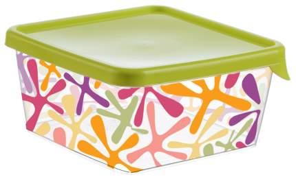 Контейнер для хранения пищи Idea Деко квадратный 0,5 л Салатовый