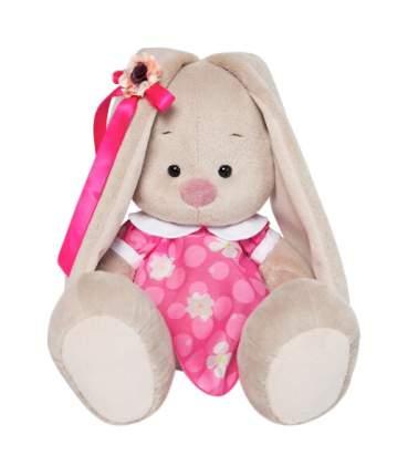 Зайка Ми в розовом платье с белым воротничком, 18 см