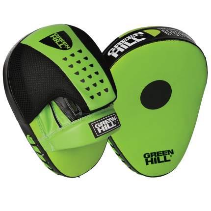 Лапы боксерские Green Hill FM-5250, искусственная кожа