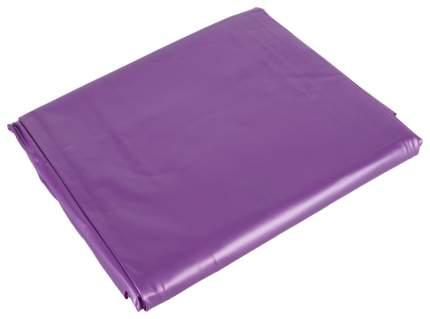 Фиолетовая виниловая простынь на двуспальную кровать