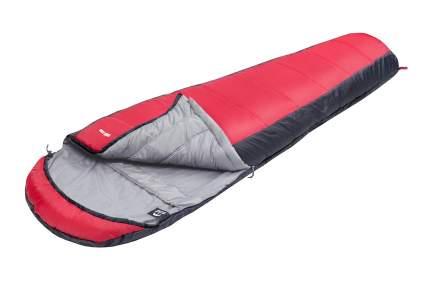 Спальный мешок Jungle Camp Track 300, трехсезонный, левая молния, цвет: серый, красный